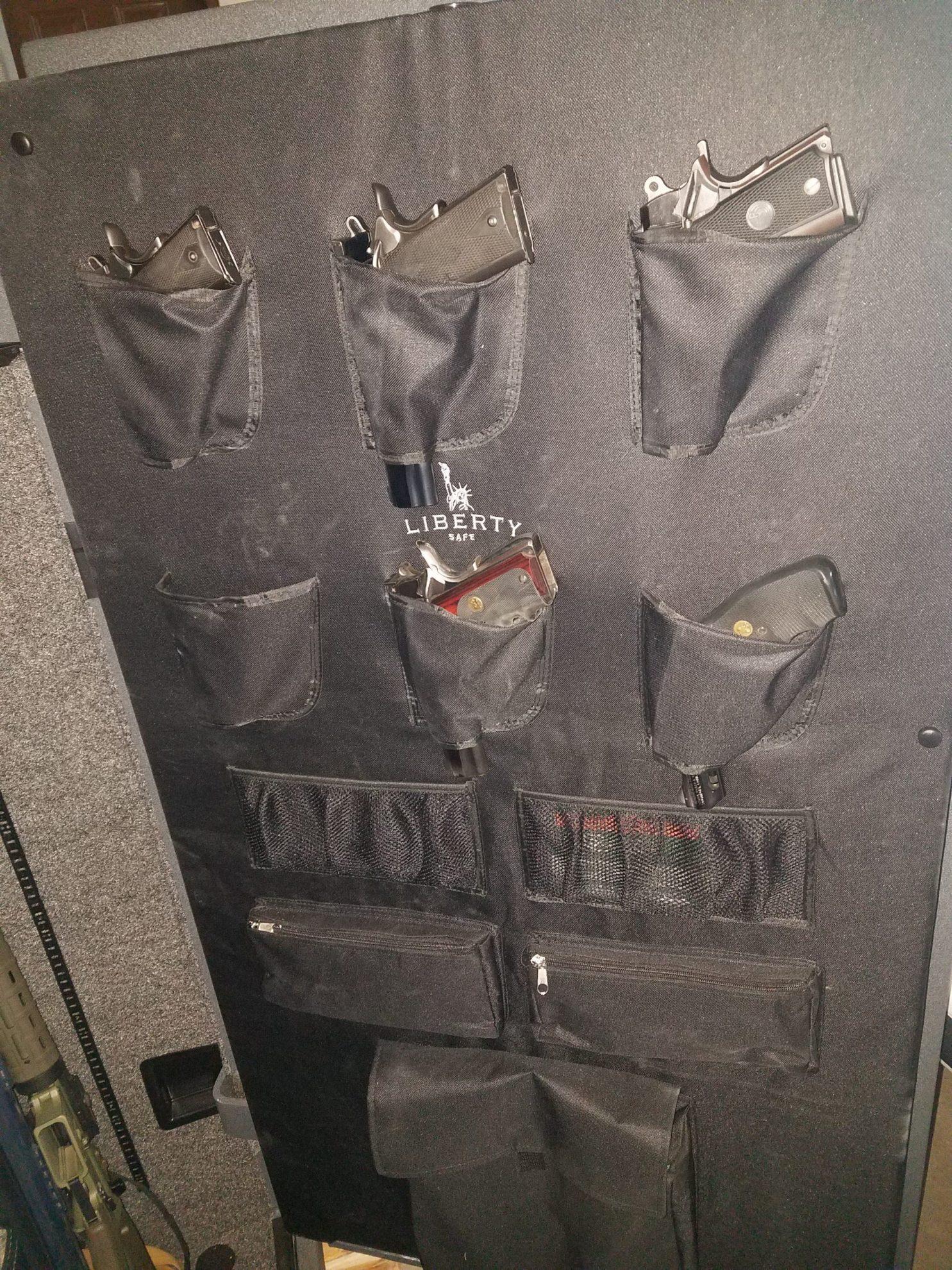 Gun Safe door open