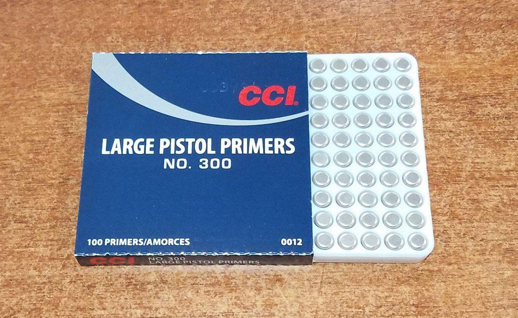 reloading ammo, pimer pack