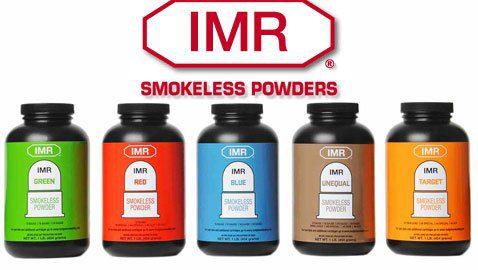 Gun powders from IMR