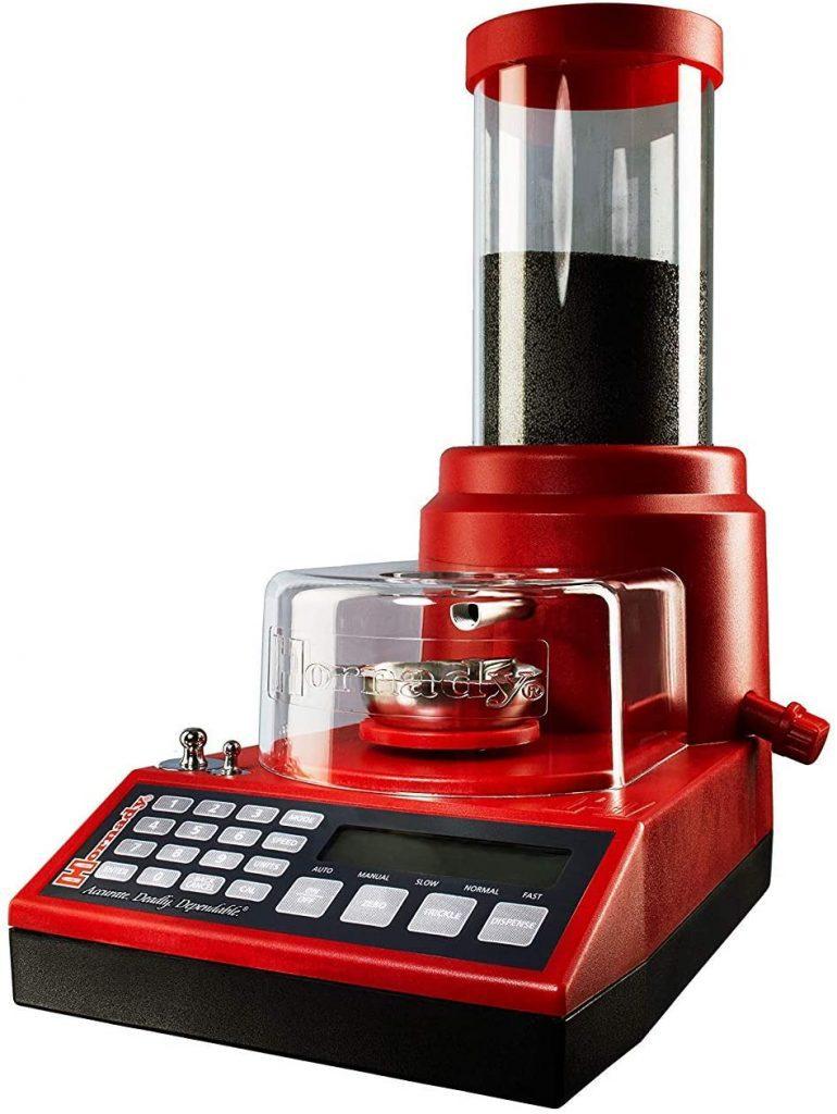 Power Trickler powder measurment system
