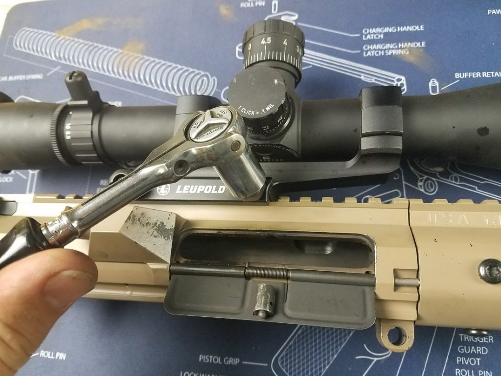 Removing the original Scope and mount to install a new scope