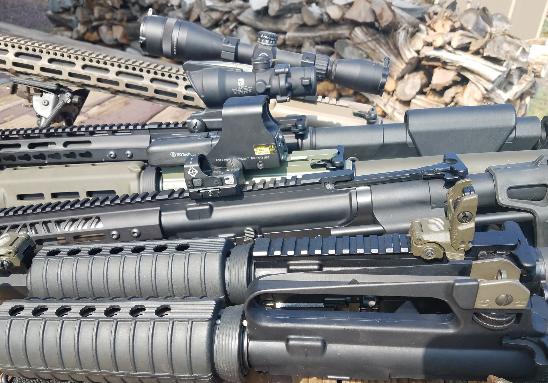 AR15 sights