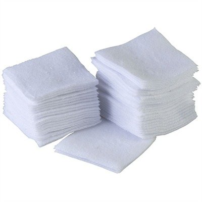 BROWNELLS 100 PAKS 100% COTTON FLANNEL CLEANING PATCHES | Brownells