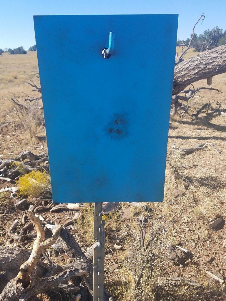 Ballistic advantage barrel test at 350 meters