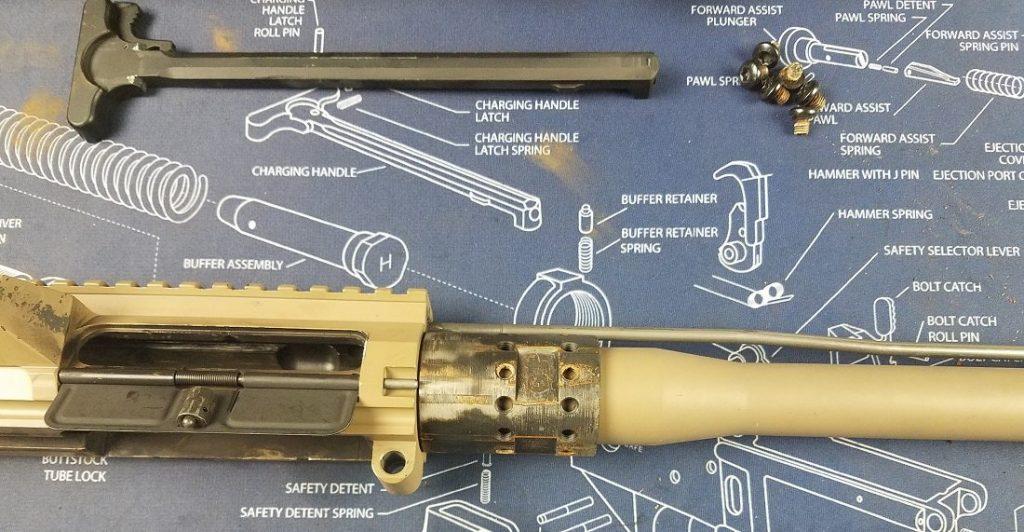 install a new barrel on an AR 15
