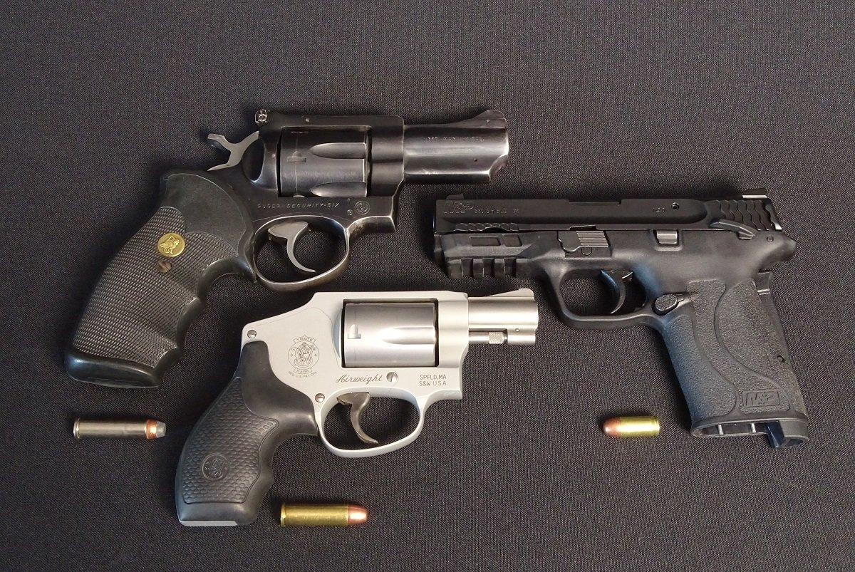 Three pistols to compare