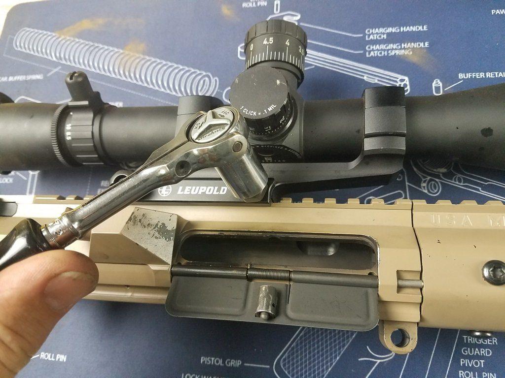 install a new barrel on an AR 10