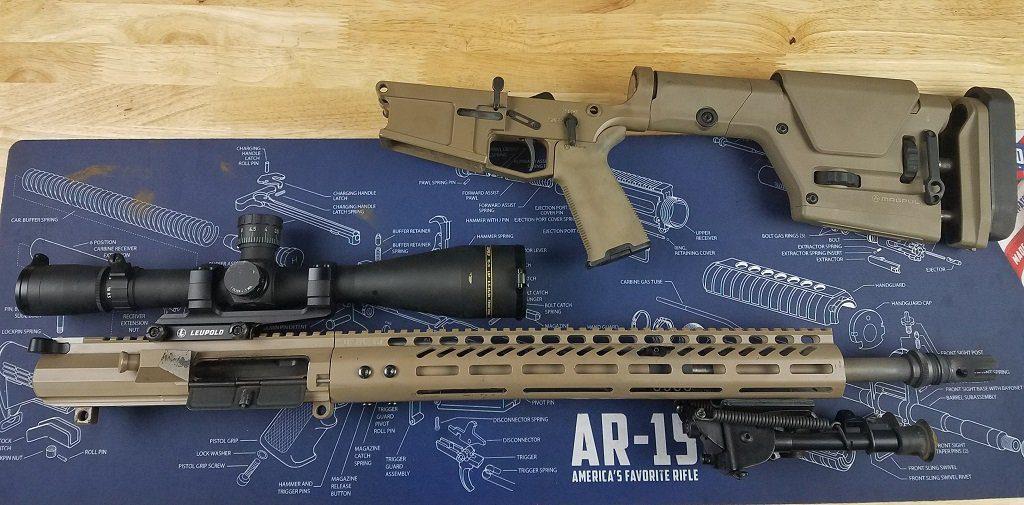 AR 10 install a new barrel