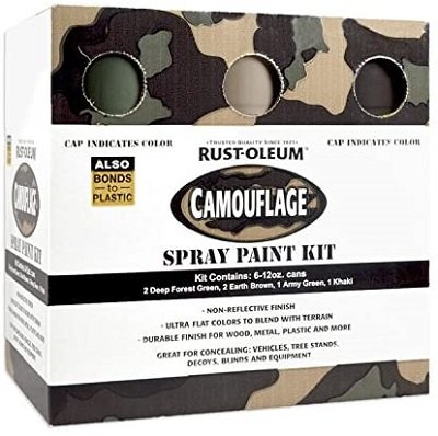 Rust-Oleum 269038-6 PK Specialty Camouflage Spray Pack