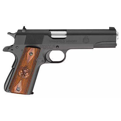 Springfield Armory 1911 Mil-Spec Semi-Auto Pistol - .45 Automatic Colt