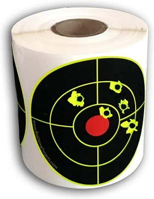 "Big Dawg Targets 250 Target Roll - 3"" Inch Adhesive Splatter Targe"