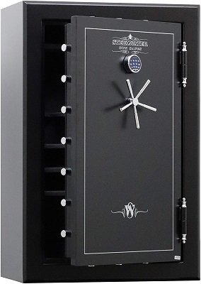 Steelwater Extreme Duty 39 Long Gun Safe, Choose from multiple lock options, LED Lights, Anchor Kit and Bypass Key
