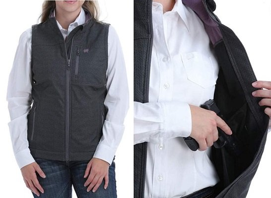 Cinch Women's Printed Bonded Concealed Carry Vest