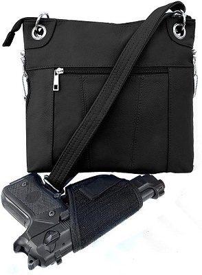 Roma Leathers Inc Women's Crossbody Bag