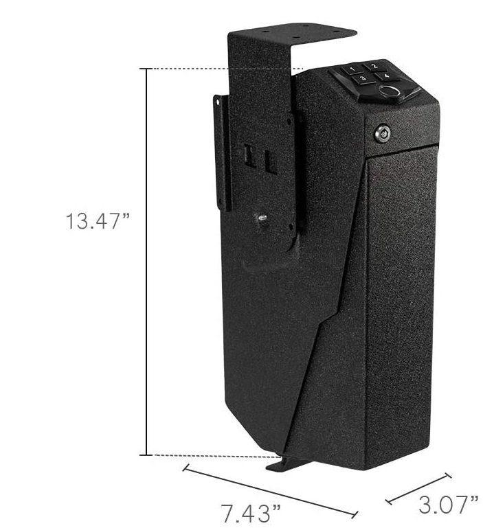 Desk Pistol storage