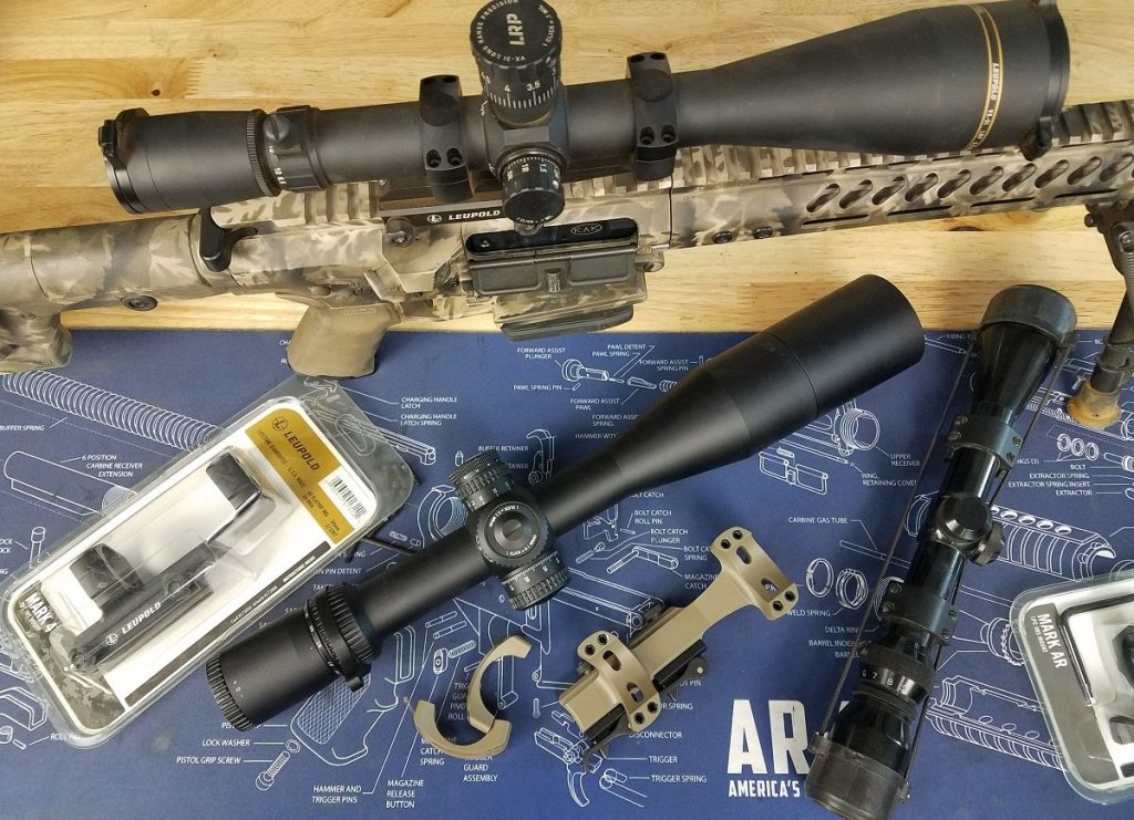 Mounting a new scope