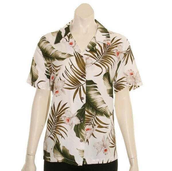 Hawaiian shirt for concealed carry
