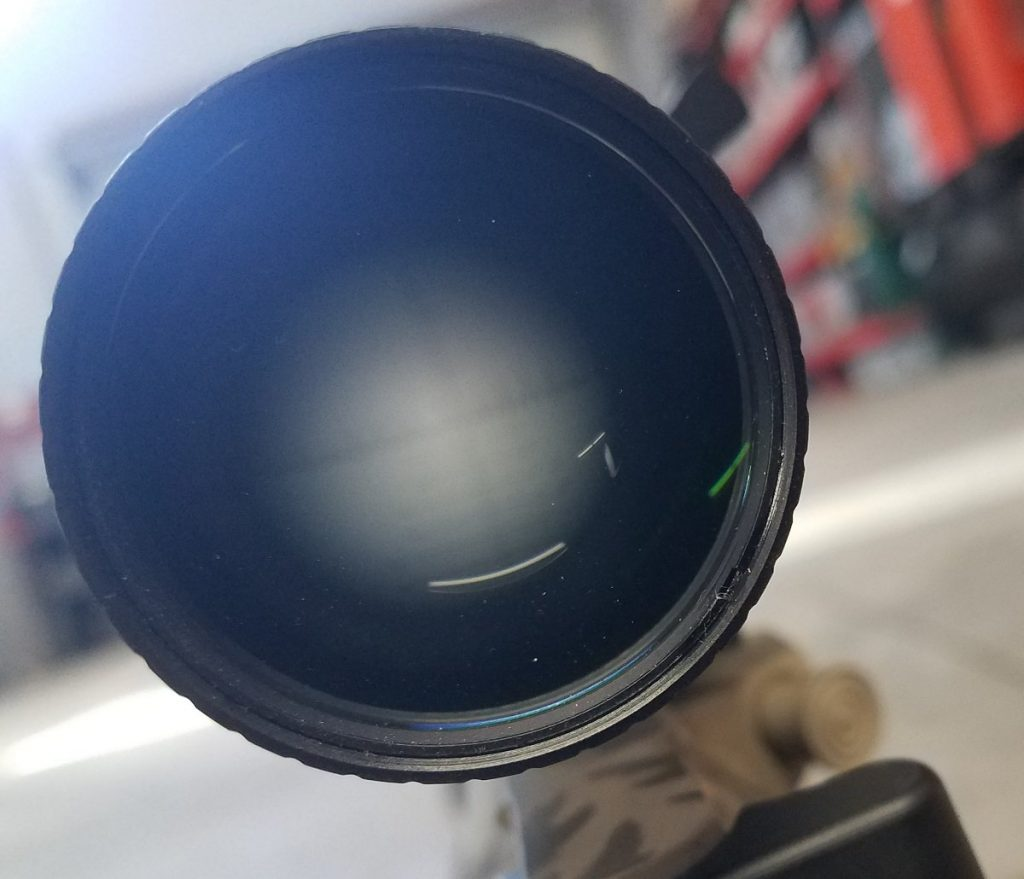 setting eye when installing a scope