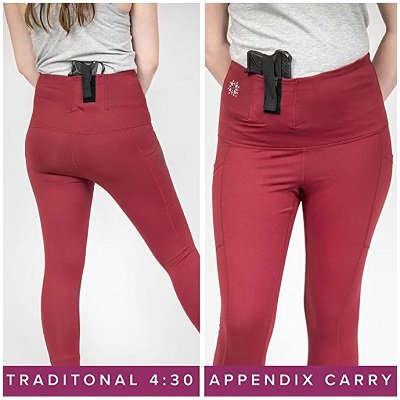 Tactica Athletic Pants for Conceal Carry