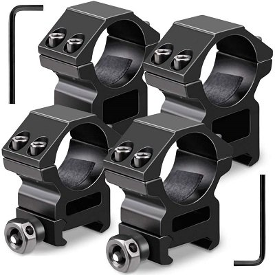 Shop all Individual Scope Rings in different heights and Tube Sizes
