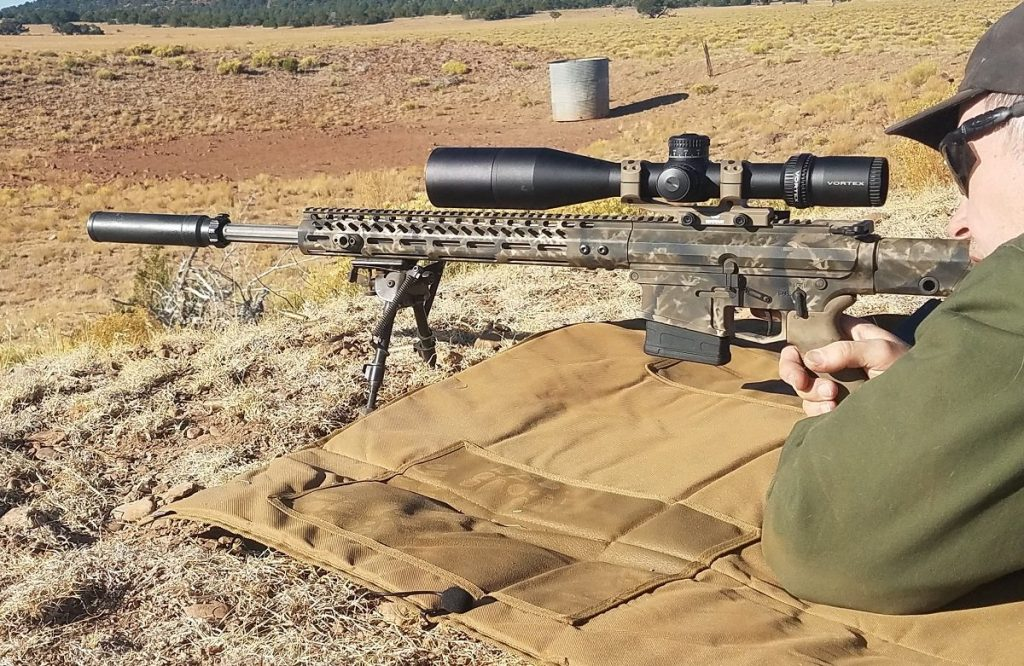 Shooting with the Vortex Strike Eagle scope