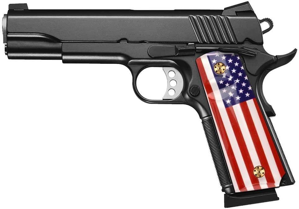 Patriotic 1911 side grips