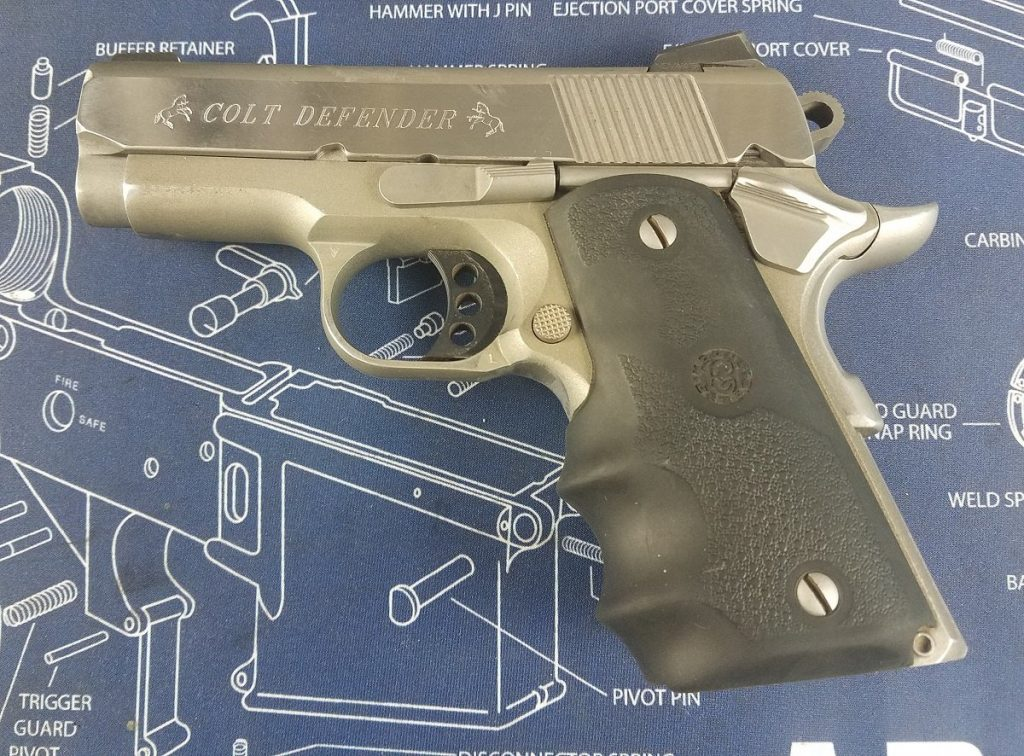 Colt Defender .45 ACP pistol