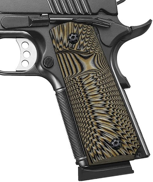 Side grip for your 1911 in G10 material
