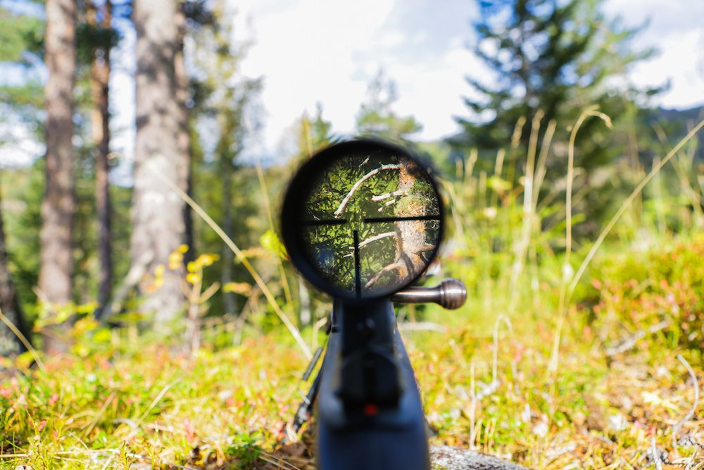 answers to how does a rifle scope work