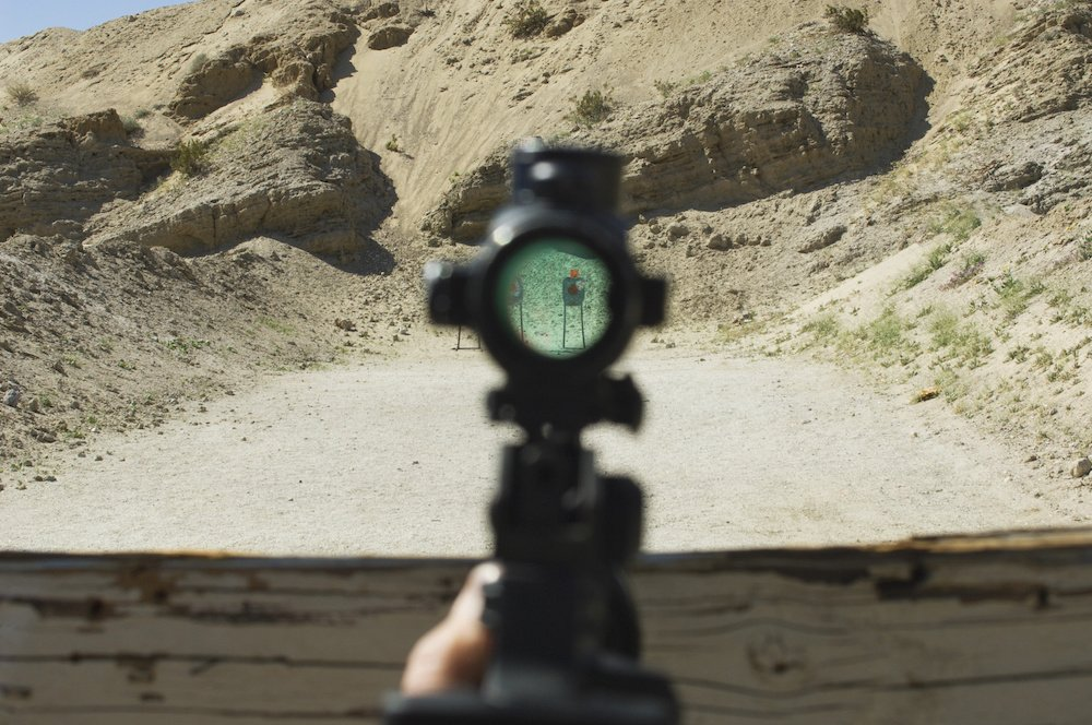 tips on how to shoot a rifle with a scope