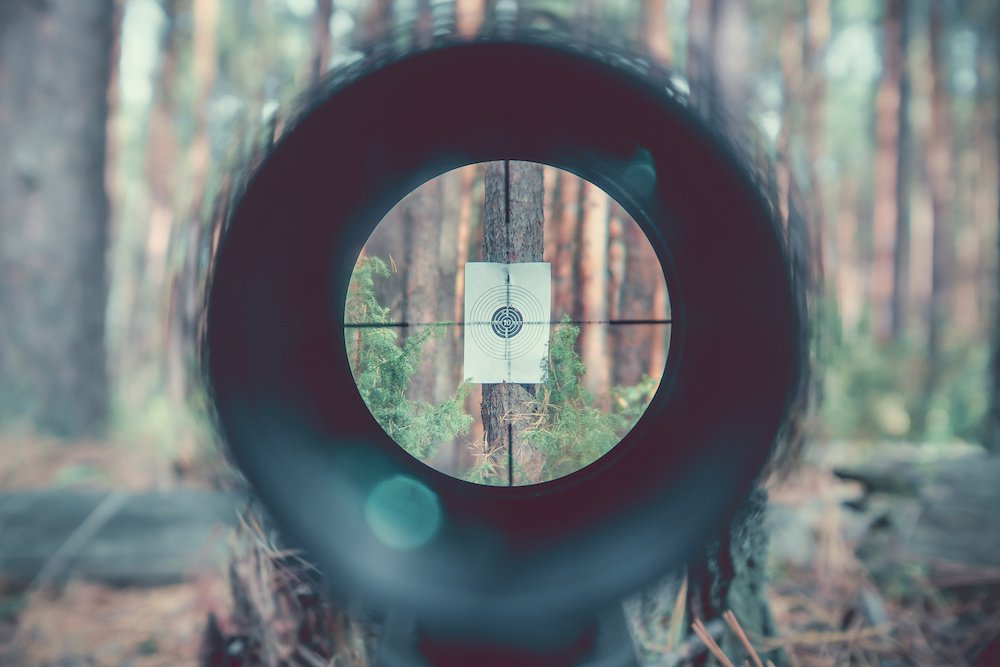 what distance to zero air rifle scope tips