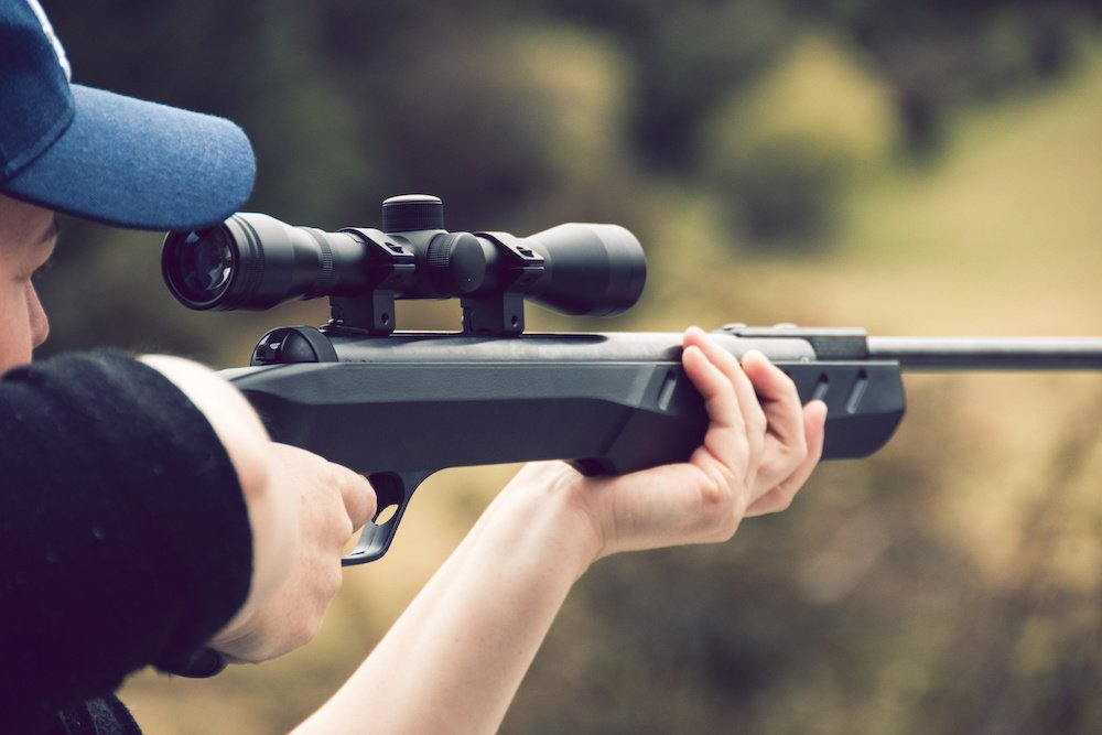what distance to zero air rifle scope