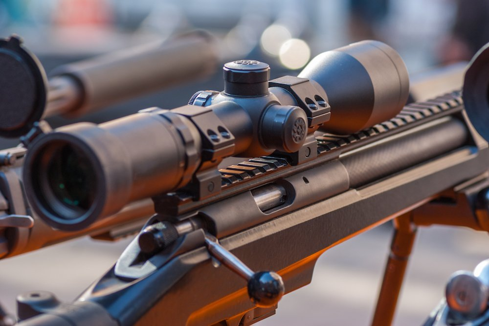 how to paint a rifle scope