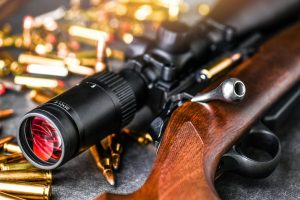difference between rifle scope magnification vs distance