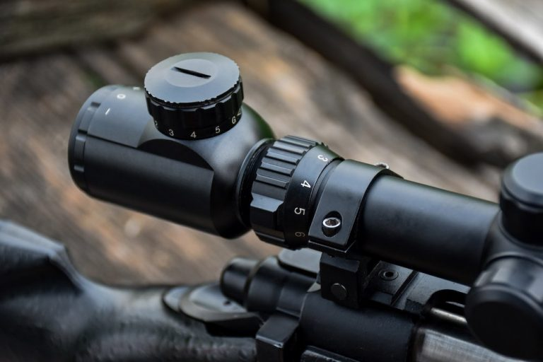 what is mil dot in rifle scope